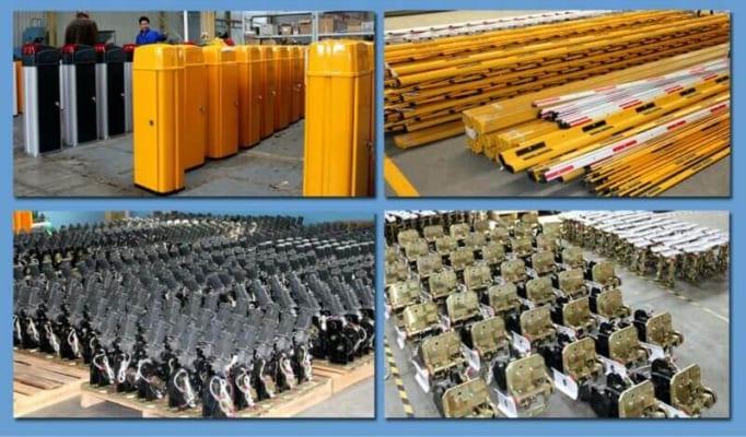 Xưởng sản xuất barie thanh chắn BISEN